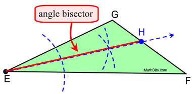 angle bisector construction - photo #31